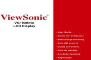 优派VG1930WM液晶显示器简体中文版说明书