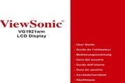 优派VG1921WM液晶显示器简体中文版说明书