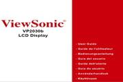 优派VP2030B液晶显示器简体中文版说明书