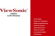 优派VX924液晶显示器简体中文版说明书<br />