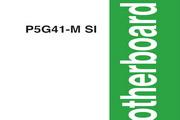 华硕P5G41-M SI主板英文版说明书