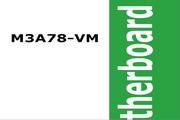 华硕M3A78-VM主板简体中文版说明书