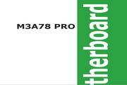 华硕M3A78 Pro主板英文版说明书