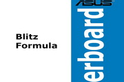 华硕Blitz Formula主板繁体中文版说明书