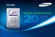 Samsung三星 YH-925 MP3播放器 说明书
