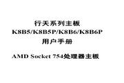 捷波K8B5/K8B5P/K8B6/K8B6P主板简体中文版说明书