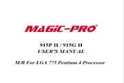 辉煌MP-915P II主板英文版说明书