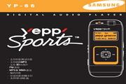 Samsung三星 YP-66 MP3播放器 说明书