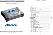 Archos爱可视Gmini 100多媒体播放器 英文版说明书