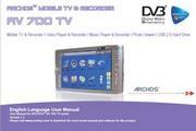 Archos爱可视AV 700系列多媒体播放器 英文版说明书
