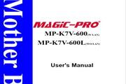 辉煌MP-K7V-600主板英文版说明书