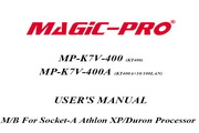 辉煌MP-K7V-400A主板英文版说明书