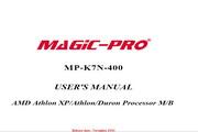 辉煌MP-K7N-400主板英文版说明书