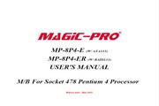 辉煌MP-8P4-ER主板英文版说明书