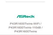 华擎P43R1600Twins-WiFi主板英文版说明书