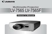 Canon佳能LV-7565投影仪 英文版说明书
