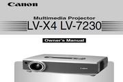 Canon佳能LV-7230投影仪 英文版说明书