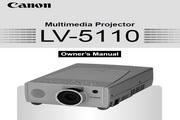 Canon佳能LV-5110投影仪 英文版说明书