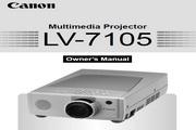 Canon佳能LV-7105投影仪 英文版说明书