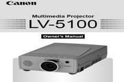 Canon佳能LV-5100投影仪 英文版说明书