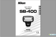 尼康 SB-400闪光灯用户手册 说明书