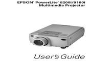 Epson爱普生PowerLite 9100NL投影仪 英文版说明书