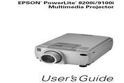 Epson爱普生PowerLite 9100i投影仪 英文版说明书