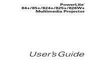Epson爱普生PowerLite 85+投影仪 英文版说明书