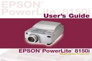 Epson爱普生PowerLite 8150NL投影仪 英文版说明书