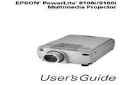 Epson爱普生PowerLite 8100NL投影仪 英文版说明书