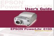 Epson爱普生PowerLite 8150i投影仪 英文版说明书