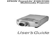 Epson爱普生PowerLite 8100i投影仪 英文版说明书