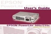Epson爱普生PowerLite 715c投影仪 英文版说明书