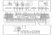 卡西欧魔光電子琴系列LK-210说明书