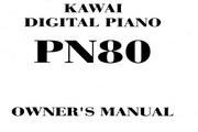 卡瓦依PN80说明书