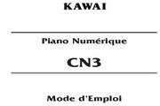 卡瓦依CN3说明书