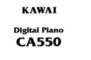 卡瓦依CA550说明书