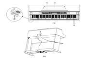 美得理DP-163数码钢琴说明书