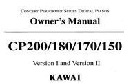 卡瓦依CP180/170/150说明书