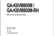 Gigabyte技嘉GA-K8VM800M-RH主板说明书