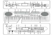 卡西欧魔光电子琴系列LK-43 & LK-45说明书