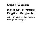 Kodak柯达DP 2900投影仪英文版说明书
