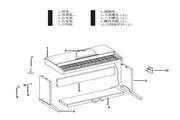 美得理DP-2数码钢琴说明书