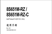 Gigabyte技嘉8S651M-RZC主板说明书