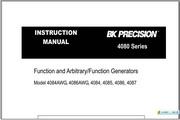 B&K 4086AWG说明书