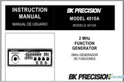 B&K 4010A说明书