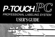 兄弟P-TOUCH PC标签打印机英文使用说明书