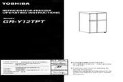 东芝 GR-Y12TPT变频式冷冻冷藏电冰箱 使用说明书