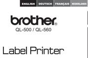 兄弟QL-560标签打印机使用说明书