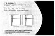 东芝 GR-R66TD变频式冷冻冷藏电冰箱 使用说明书